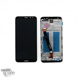 Ecran LCD + Vitre Tactile pour Huawei Mate 10 Lite avec chassis Noir