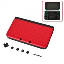 Coque complète 3DS XL Rouge
