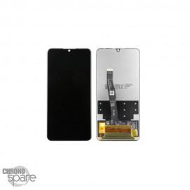 Bloc écran OLED + vitre tactile sans châssis Huawei P30 lite 48mp noir
