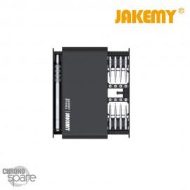 Tournevis 17 en 1 kit outillage Jakemy JM-8171
