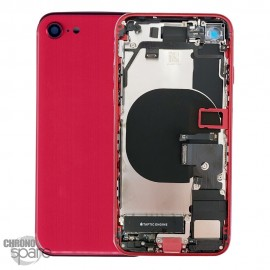 Châssis iphone SE 2020 avec nappes rouge