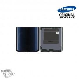 Vitre arrière Noire (Partie inférieure) Samsung Galaxy Z Flip F700 (officiel)