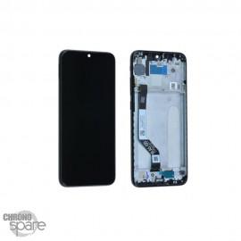 Ecran LCD et Vitre Tactile avec châssis Xiaomi Redmi Note 7 Noir