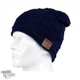 Bonnet Bluetooth bleu