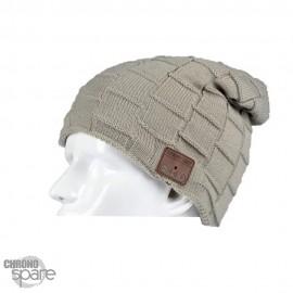 Bonnet Bluetooth beige