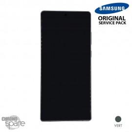 Ecran LCD + Vitre tactile Samsung Galaxy Note 20 SM-N980F vert (officiel)