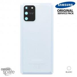 Vitre arrière + vitre caméra blanche Samsung Galaxy S20 FE G780F (officiel)