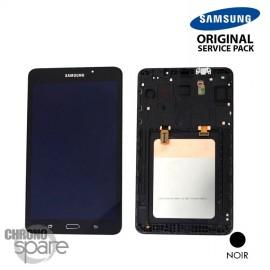 """Ecran LCD et Vitre Tactile noire Samsung Galaxy Tab A 2016 7"""" T280 (officiel)"""