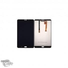 "Ecran LCD + Vitre Tactile noire Samsung Galaxy Tab A 2016 7"" T285"