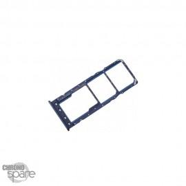 Tiroir SIM Samsung Galaxy A21s A217 F bleu