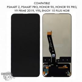 Bloc écran LCD + vitre tactile Huawei P smart Z Noir