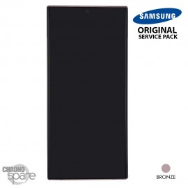 Vitre tactile et écran LCD Samsung Galaxy Note 20 Ultra SM-N980F (officiel) Bronze