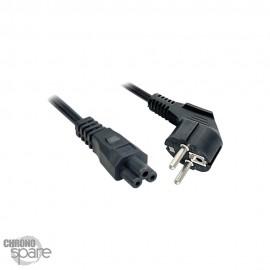 Cable Alimentation 3 broches EU 2 m pour PC Portable