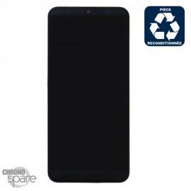 Ecran LCD + Vitre Tactile + châssis noir Samsung Galaxy A50 A505F (reconditionné)