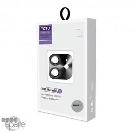 Vitre de protection pour caméra arrière iPhone 12 gris sidéral TOTU