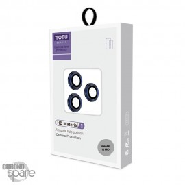 Lentilles de protection pour caméra arrière iPhone 12 pro bleu TOTU