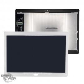 Ecran LCD + Vitre tactile Blanche Huawei Tab M3 lite 10.1'