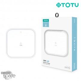 Chargeur secteur induction 15W blanc TOTU (CACW-024)