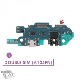 Nappe connecteur de charge Samsung Galaxy A10 A105FN double sim