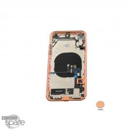 Châssis iPhone XR Corail - avec nappes