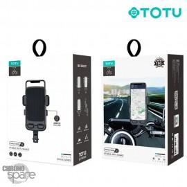 Support téléphone moto/vélo TOTU (DCTS-15) - Noir
