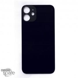 Plaque arrière en verre iPhone 12 mini noire (pour machine laser)
