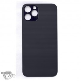 Plaque arrière en verre iPhone 12 pro graphite (pour machine laser)