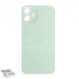 Plaque arrière en verre iPhone 12 verte (pour machine laser)