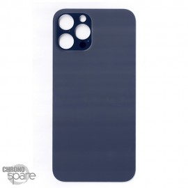 Plaque arrière en verre iPhone 12 pro max bleu (pour machine laser)