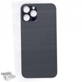 Plaque arrière en verre iPhone 12 pro max graphite (pour machine laser)