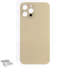Plaque arrière en verre iPhone 12 pro max or (pour machine laser)