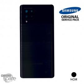 Vitre arrière + vitre caméra noire Samsung Galaxy A42 5G A426F (officiel)