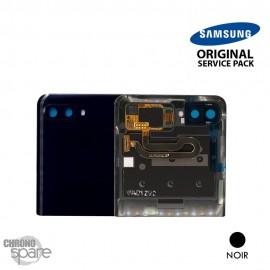 Vitre arrière + vitre caméra Noir Samsung Galaxy Z Flip F700 (officiel)