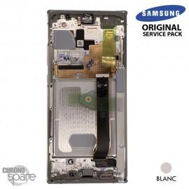 Vitre tactile et écran LCD Samsung Galaxy Note 20 Ultra SM-N980F (officiel) Blanc