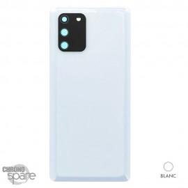 Vitre arrière blanche Samsung Galaxy S20 FE G780F