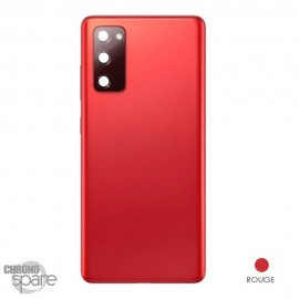 Vitre arrière rouge Samsung Galaxy S20 FE G780F
