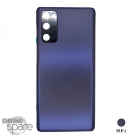 Vitre arrière bleue Samsung Galaxy S20 FE G780F
