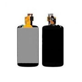 Ecran LCD + vitre tactile + châssis LG G2 Mini D620 Noir (Compatible AAA)