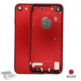 Châssis arrière iPhone 7 Rouge - sans nappes