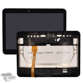 "Ecran LCD +Vitre tactile + châssis noir SAMSUNG Galaxy Tab 4 - T530 (10.1"")"