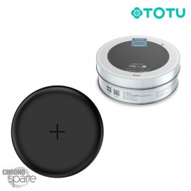 Chargeur induction 10W TOTU Noir (CACW-041)
