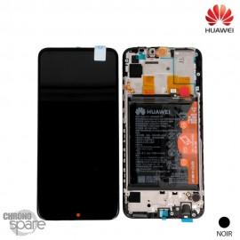 Bloc écran LCD + vitre tactile + batterie Huawei P Smart 2020 Noir (officiel)