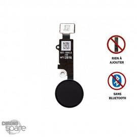 Bouton Home iPhone 7/8/7 plus/8 plus dernière génération sans bluetooth - Noir