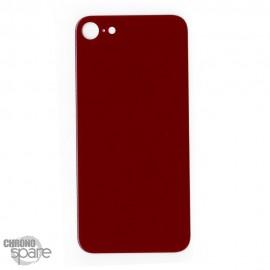 Plaque arrière en verre iPhone SE 2020 rouge(pour machine laser)