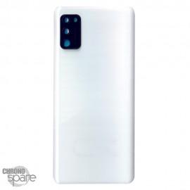 Vitre arrière + lentille caméra Samsung Galaxy A41 A415F - Blanche