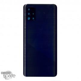 Vitre arrière + lentille caméra Samsung Galaxy A51 A515F - Noire