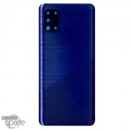 Vitre arrière + lentille caméra Samsung Galaxy A31 A315F - Bleue