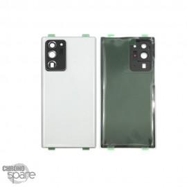 Vitre arrière Samsung Galaxy note 20 ultra blanche