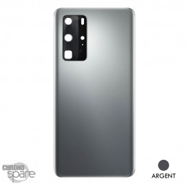 Vitre arrière + vitre caméra Huawei P40 Pro - Argent