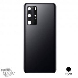 Vitre arrière + vitre caméra Huawei P40 Pro- Noire